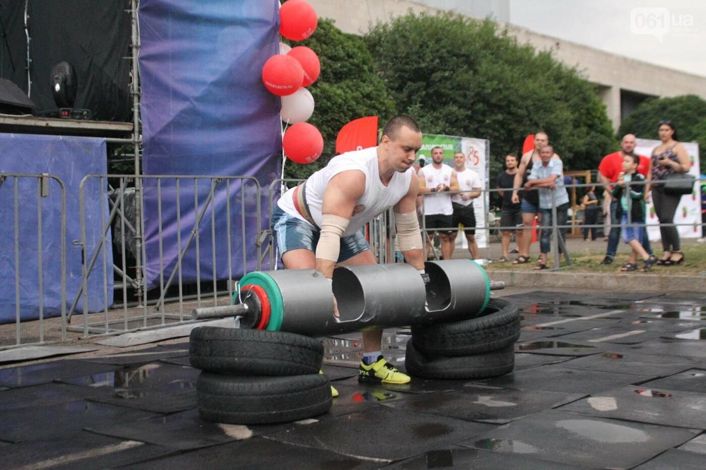 «Казацкая сила»: как в Запорожье соревновались лучшие стронгмены, – ФОТОРЕПОРТАЖ, фото-7