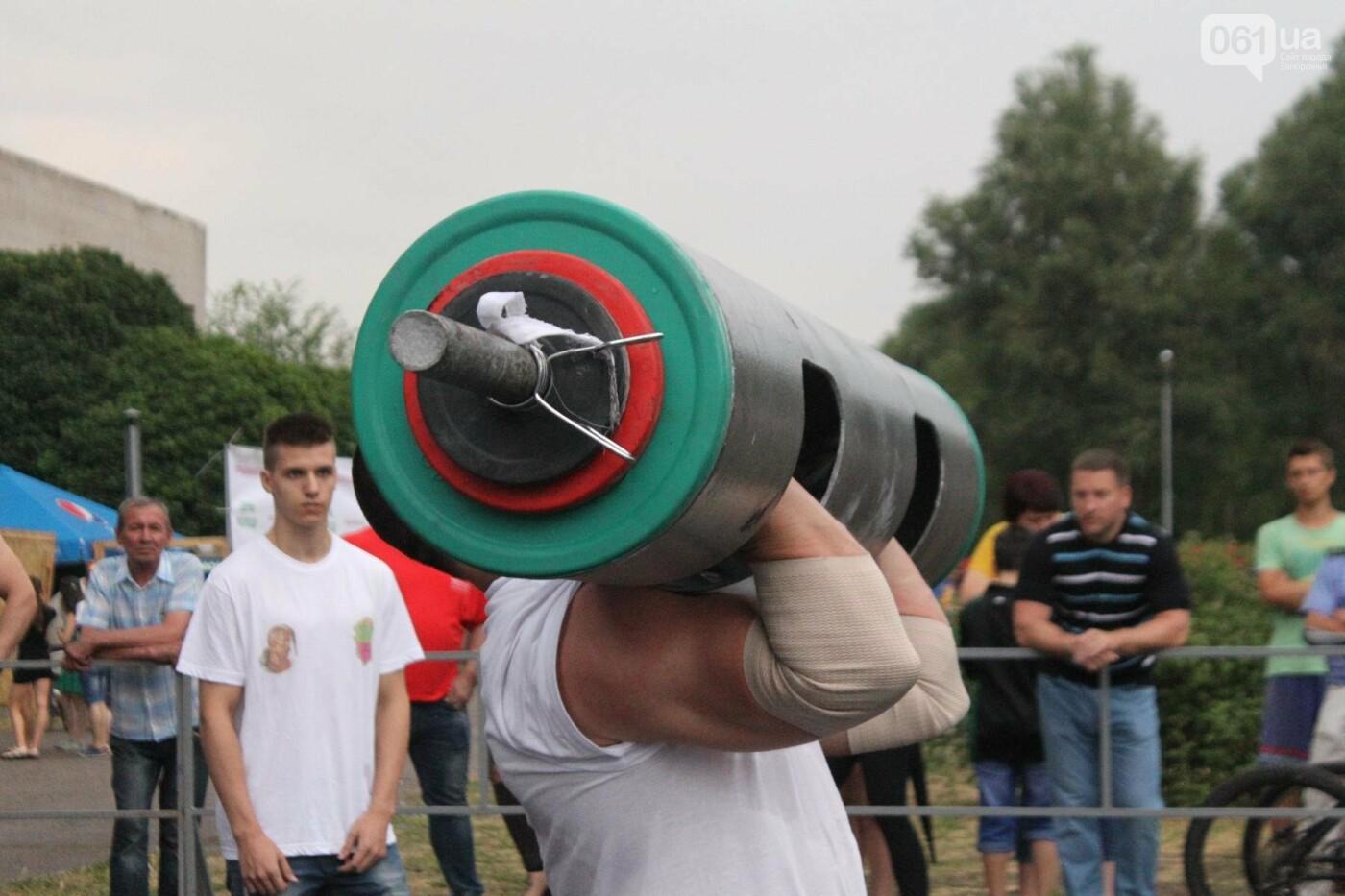 «Казацкая сила»: как в Запорожье соревновались лучшие стронгмены, – ФОТОРЕПОРТАЖ, фото-5