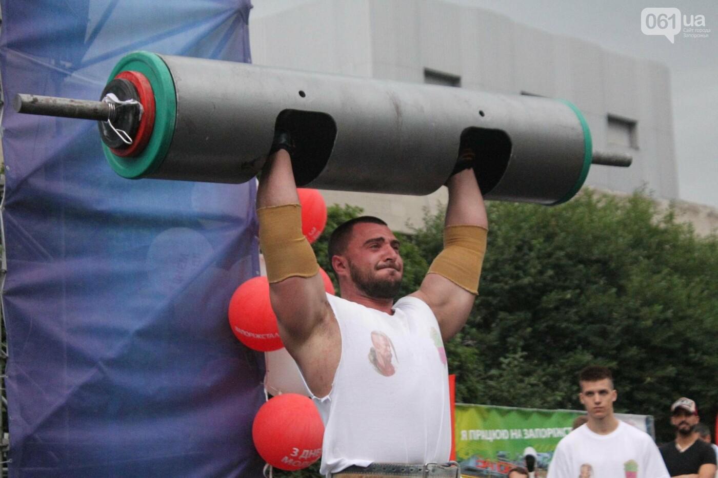 «Казацкая сила»: как в Запорожье соревновались лучшие стронгмены, – ФОТОРЕПОРТАЖ, фото-6