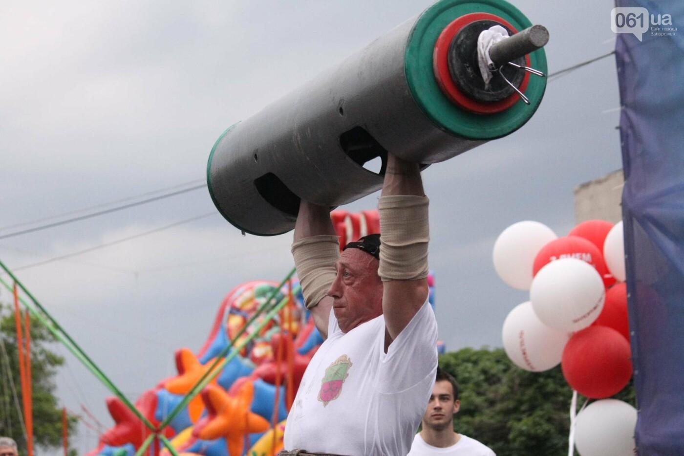 «Казацкая сила»: как в Запорожье соревновались лучшие стронгмены, – ФОТОРЕПОРТАЖ, фото-9