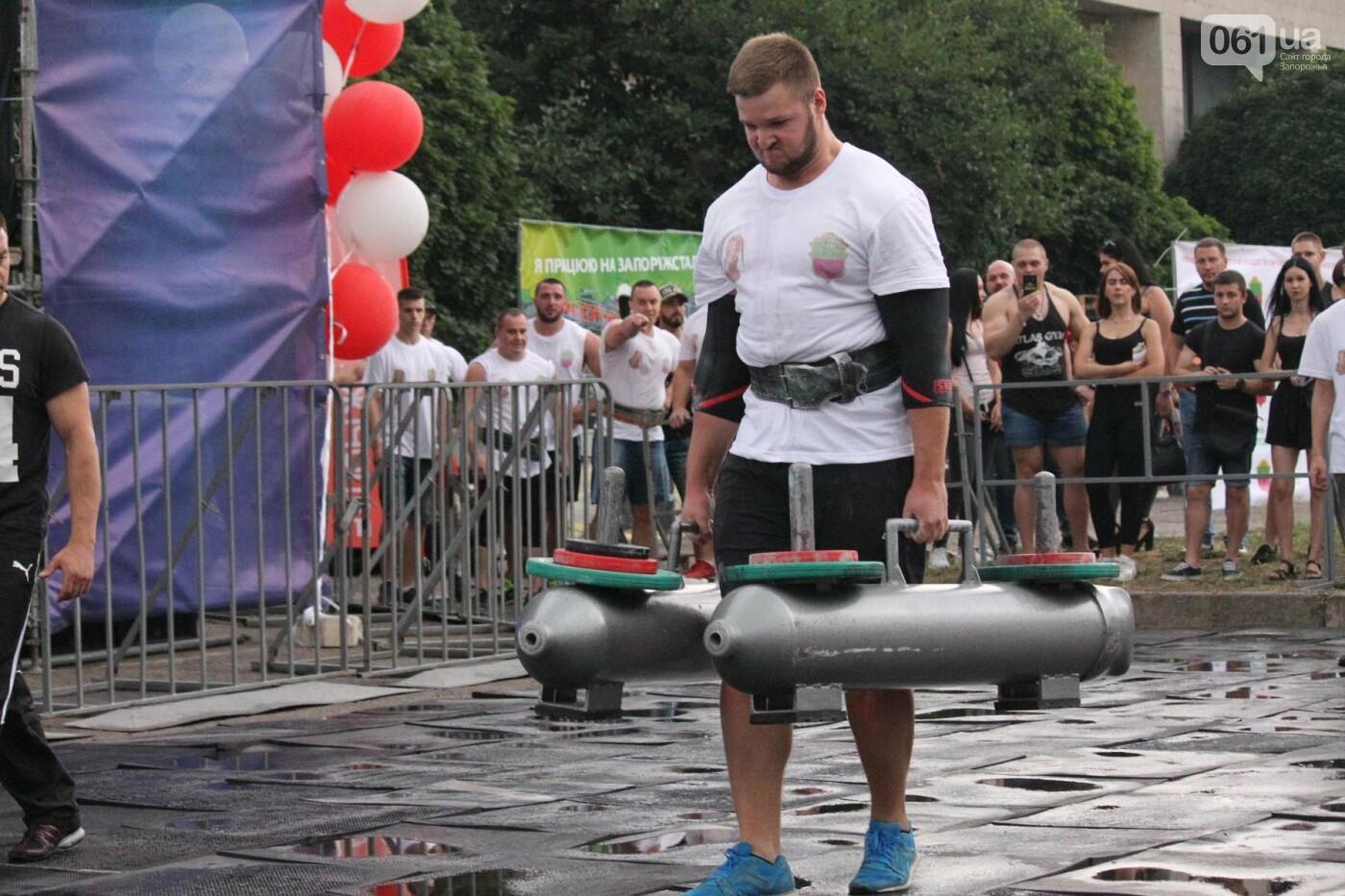 «Казацкая сила»: как в Запорожье соревновались лучшие стронгмены, – ФОТОРЕПОРТАЖ, фото-13