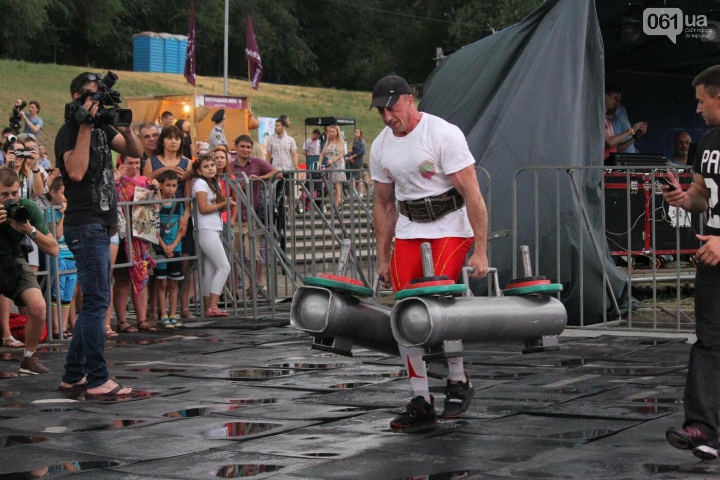 «Казацкая сила»: как в Запорожье соревновались лучшие стронгмены, – ФОТОРЕПОРТАЖ, фото-19