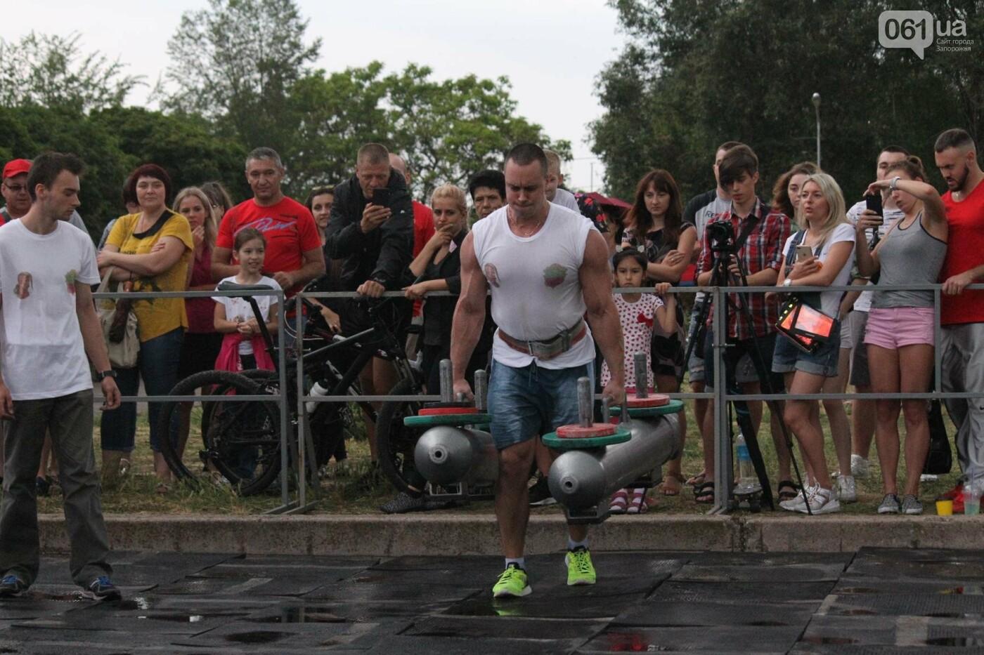 «Казацкая сила»: как в Запорожье соревновались лучшие стронгмены, – ФОТОРЕПОРТАЖ, фото-16