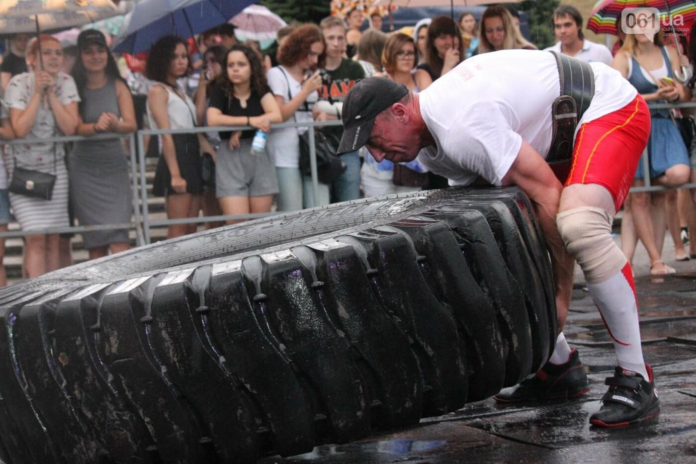 «Казацкая сила»: как в Запорожье соревновались лучшие стронгмены, – ФОТОРЕПОРТАЖ, фото-29