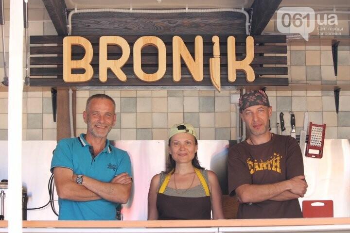 Фаст-фуд «Броник»: как трое запорожских ветеранов АТО открыли сэндвич-бар, – ФОТОРЕПОРТАЖ, фото-1