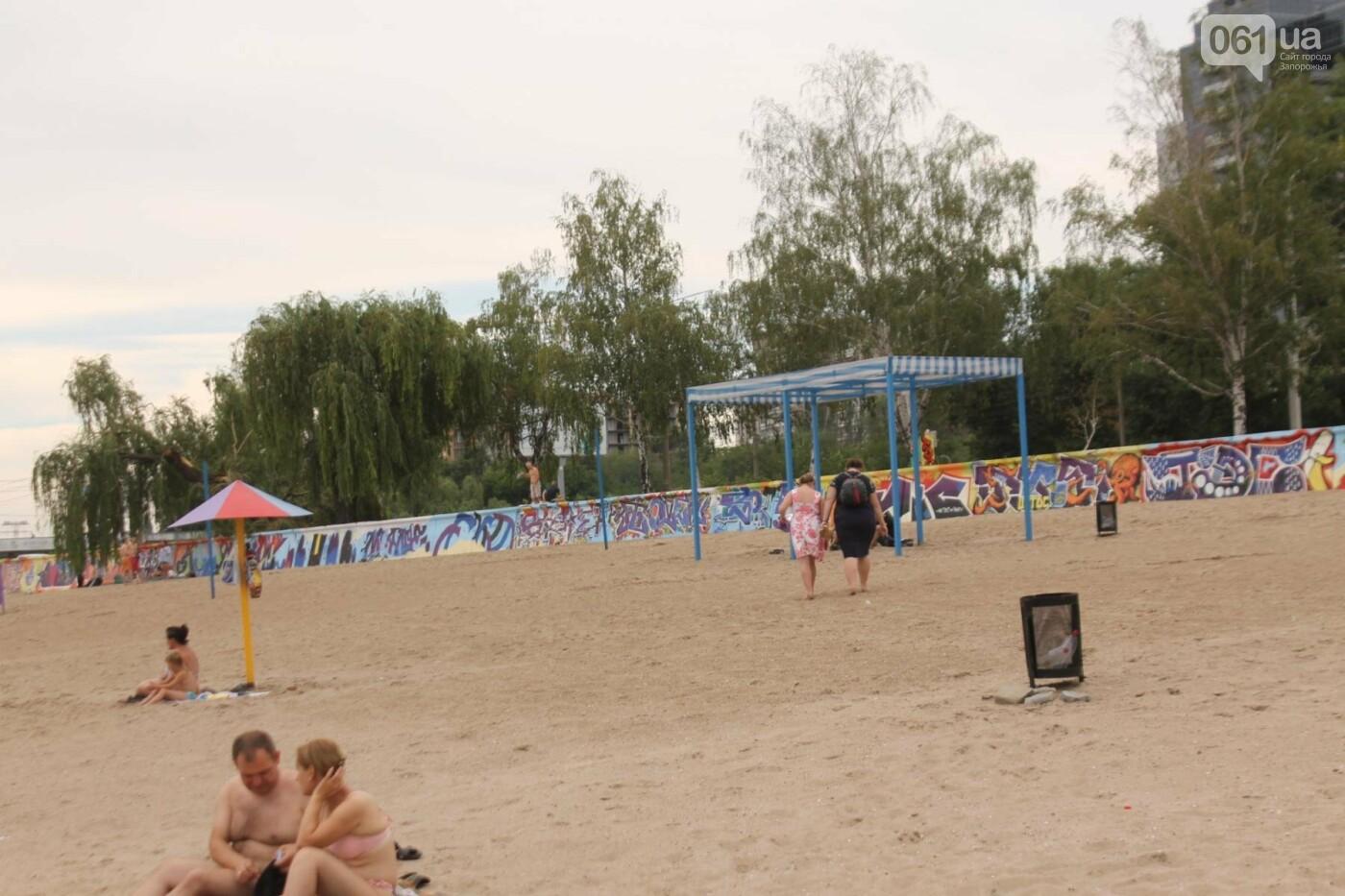 В Запорожье на пляже закончился фестиваль граффити: разрисовали 150 метров бетонной стены, – ФОТОРЕПОРТАЖ, фото-40