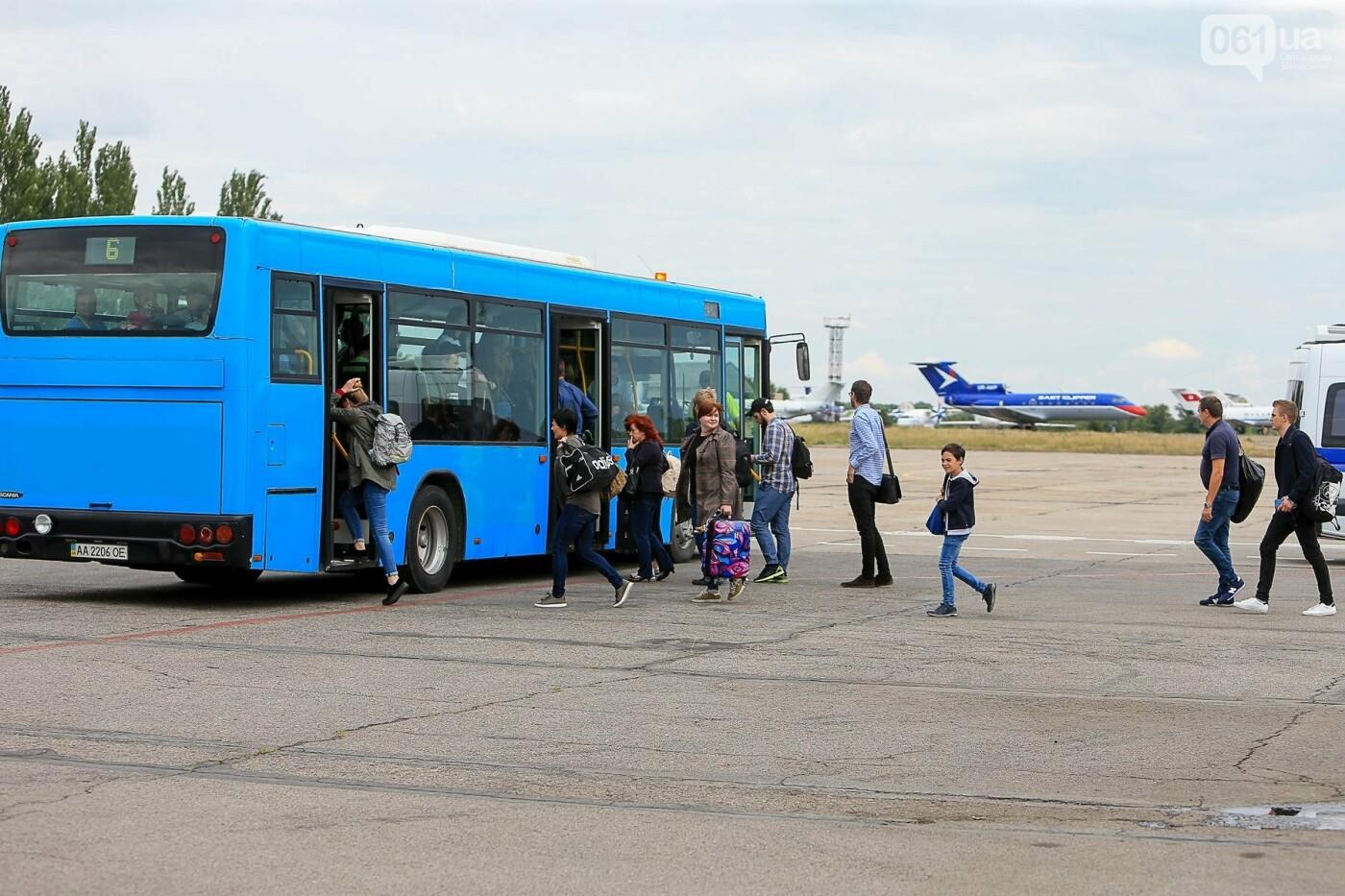 Торт, каравай и дождевая арка: открытие нового авиарейса Варшава-Запорожье в фотографиях, фото-13