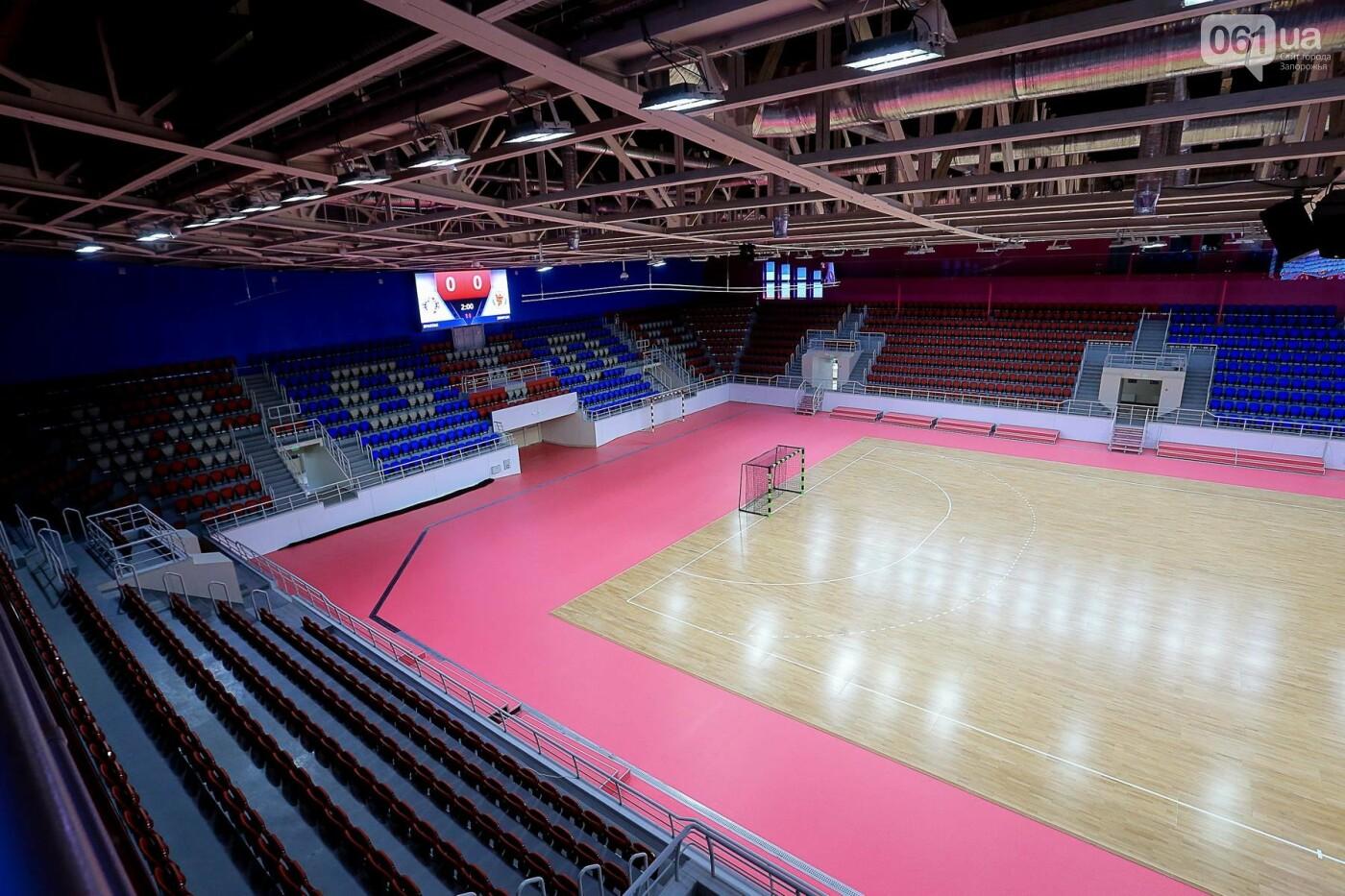 Представители Европейской гандбольной федерации проинспектировали запорожскую «Юность», - ФОТО, фото-4