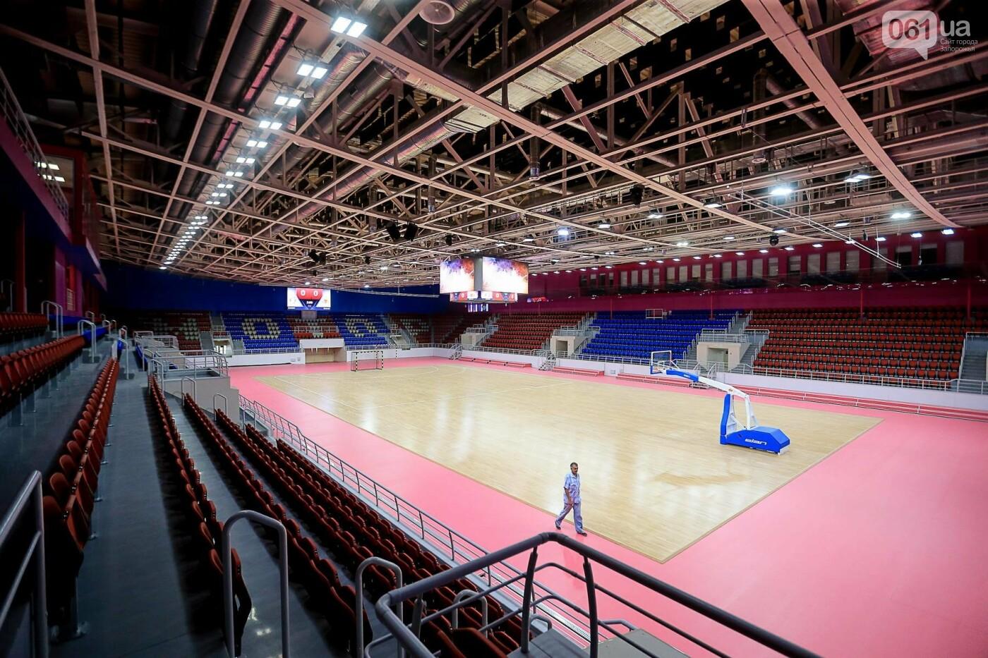 Представители Европейской гандбольной федерации проинспектировали запорожскую «Юность», - ФОТО, фото-8