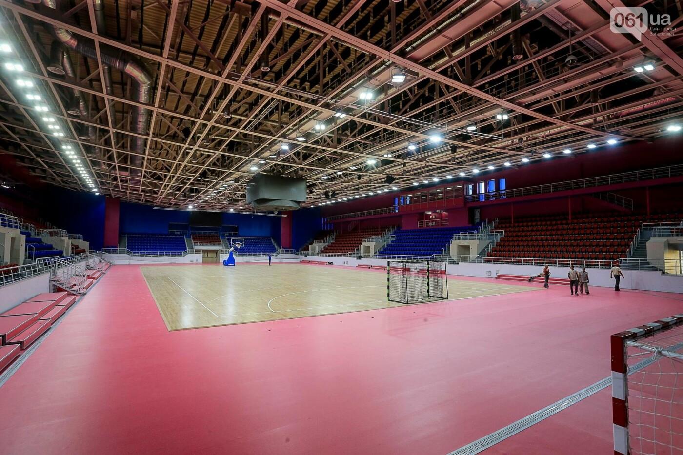 Представители Европейской гандбольной федерации проинспектировали запорожскую «Юность», - ФОТО, фото-2