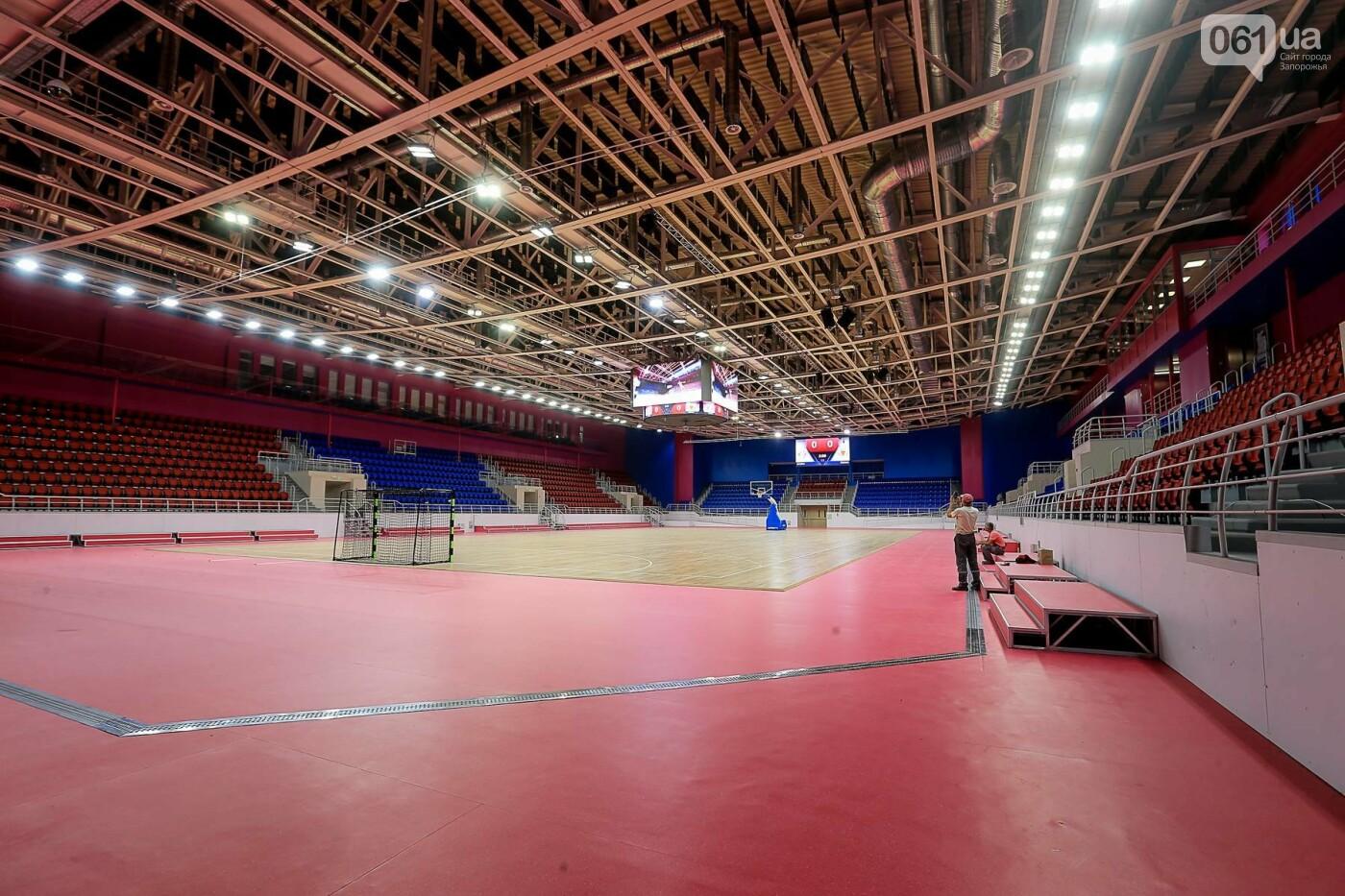 Представители Европейской гандбольной федерации проинспектировали запорожскую «Юность», - ФОТО, фото-14