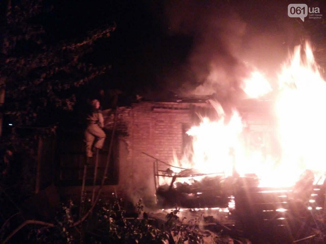 В центре Гуляйполя сгорел жилой дом, - ФОТО, фото-2