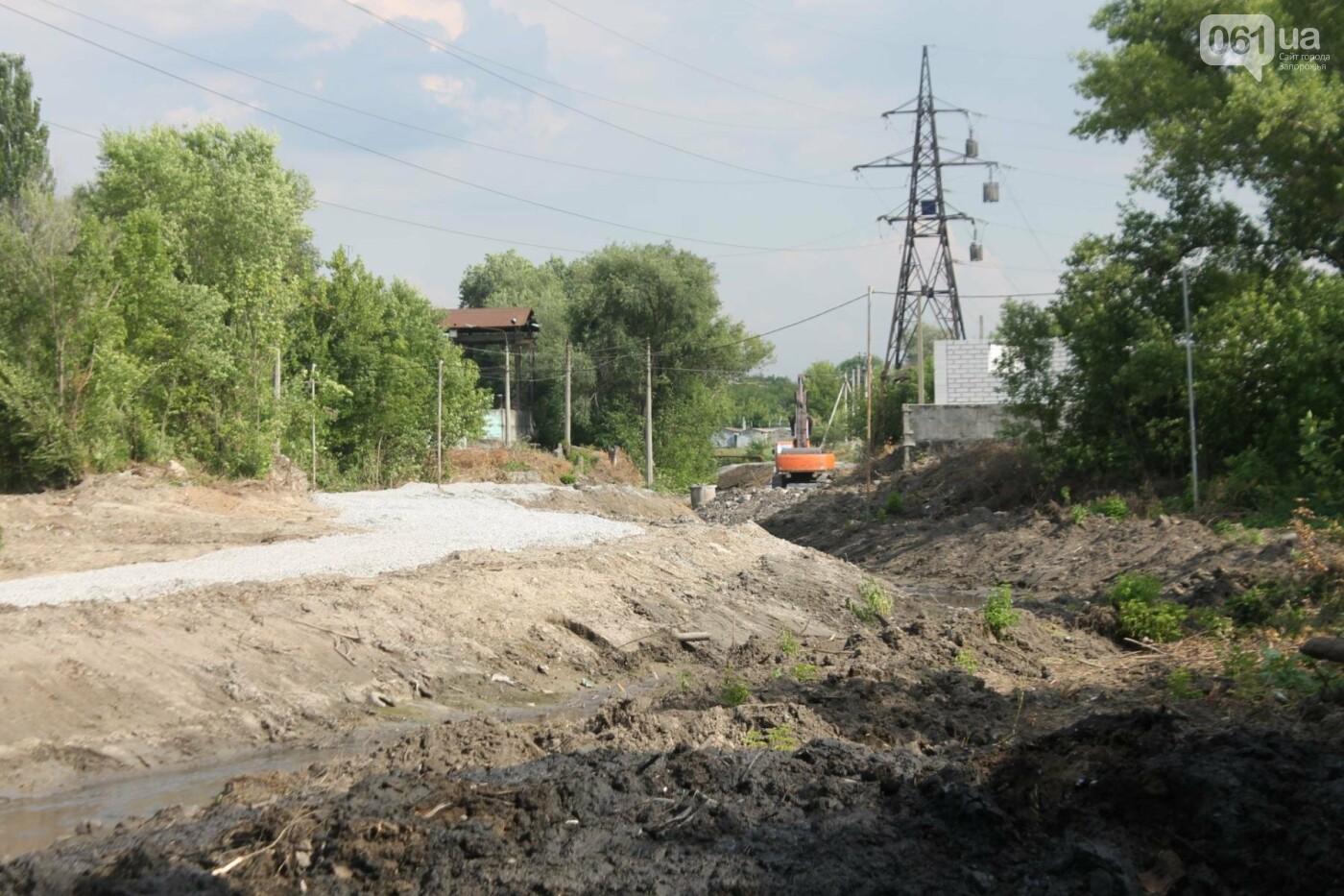 В Запорожье продолжается многомиллионная расчистка русла реки на Верхней Хортице, – ФОТОРЕПОРТАЖ, фото-2