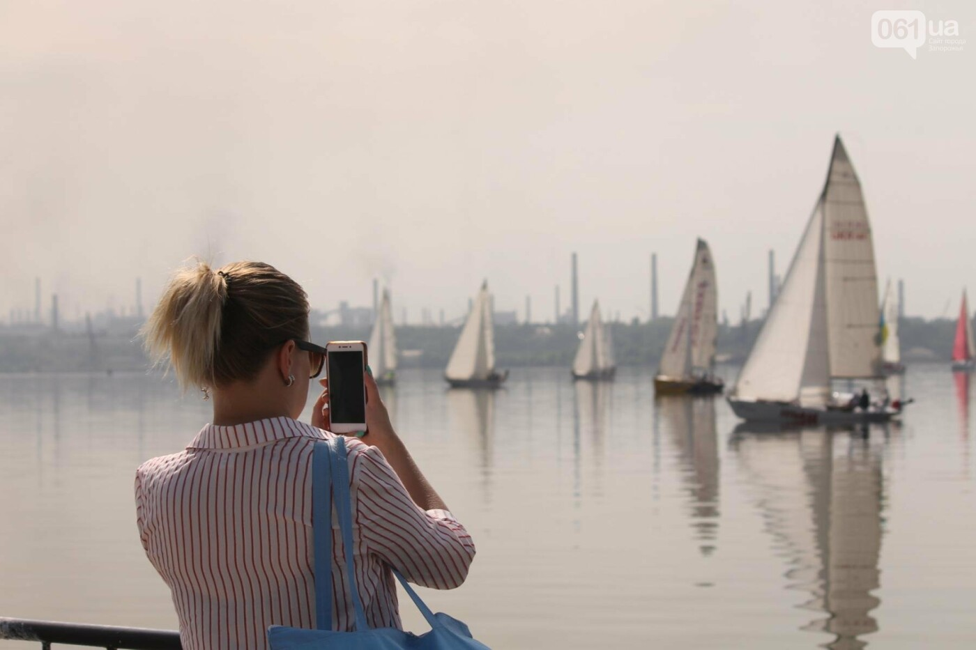 Сотни спортсменов и десятки яхт: как в Запорожье проходит парусная регата, – ФОТОРЕПОРТАЖ, фото-20