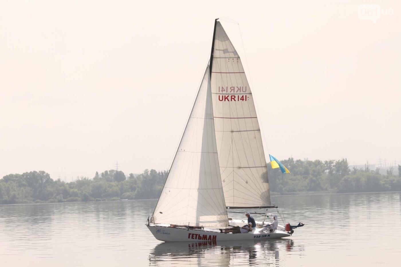 Сотни спортсменов и десятки яхт: как в Запорожье проходит парусная регата, – ФОТОРЕПОРТАЖ, фото-1