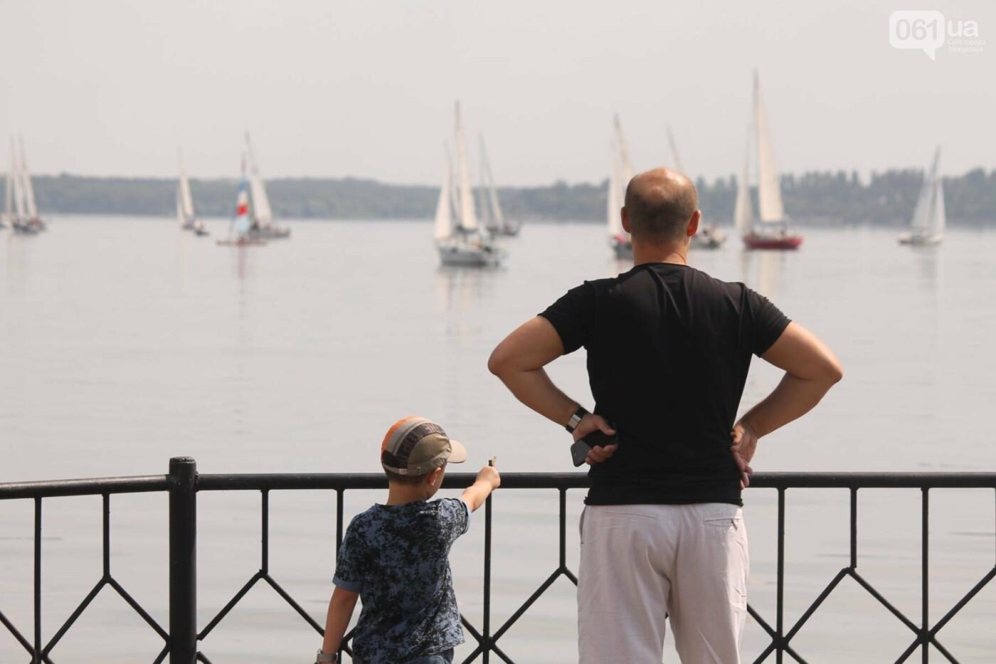 Сотни спортсменов и десятки яхт: как в Запорожье проходит парусная регата, – ФОТОРЕПОРТАЖ, фото-19