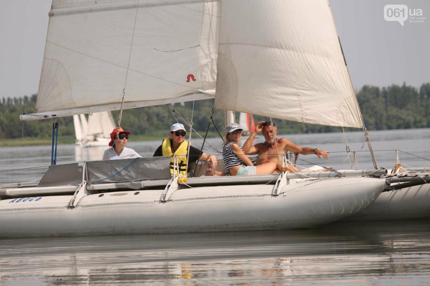 Сотни спортсменов и десятки яхт: как в Запорожье проходит парусная регата, – ФОТОРЕПОРТАЖ, фото-39
