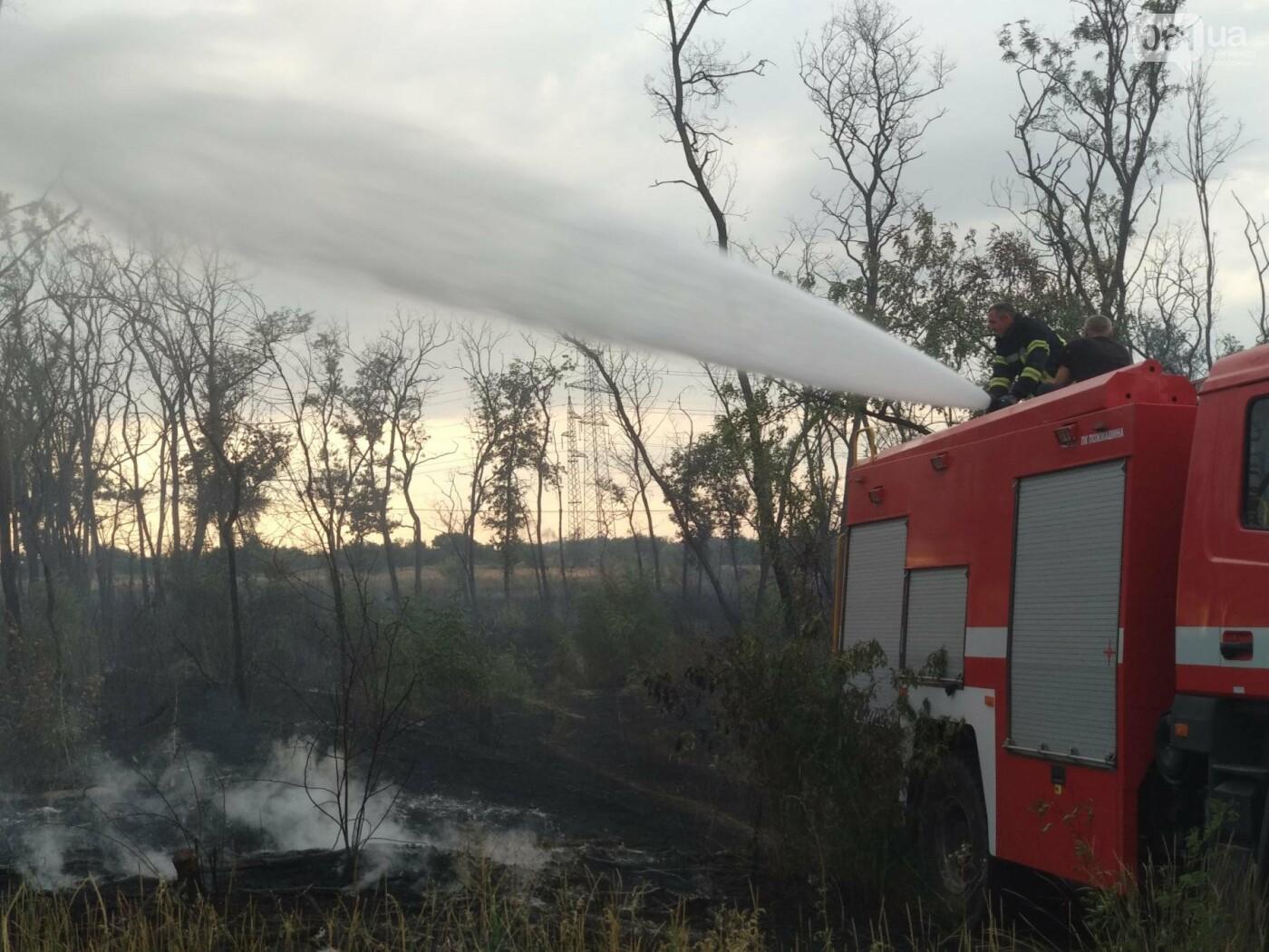 В области за день случилось 23 пожара: в Запорожье тушили не только пожарные, но и ЭЛУАД, - ФОТО, фото-4