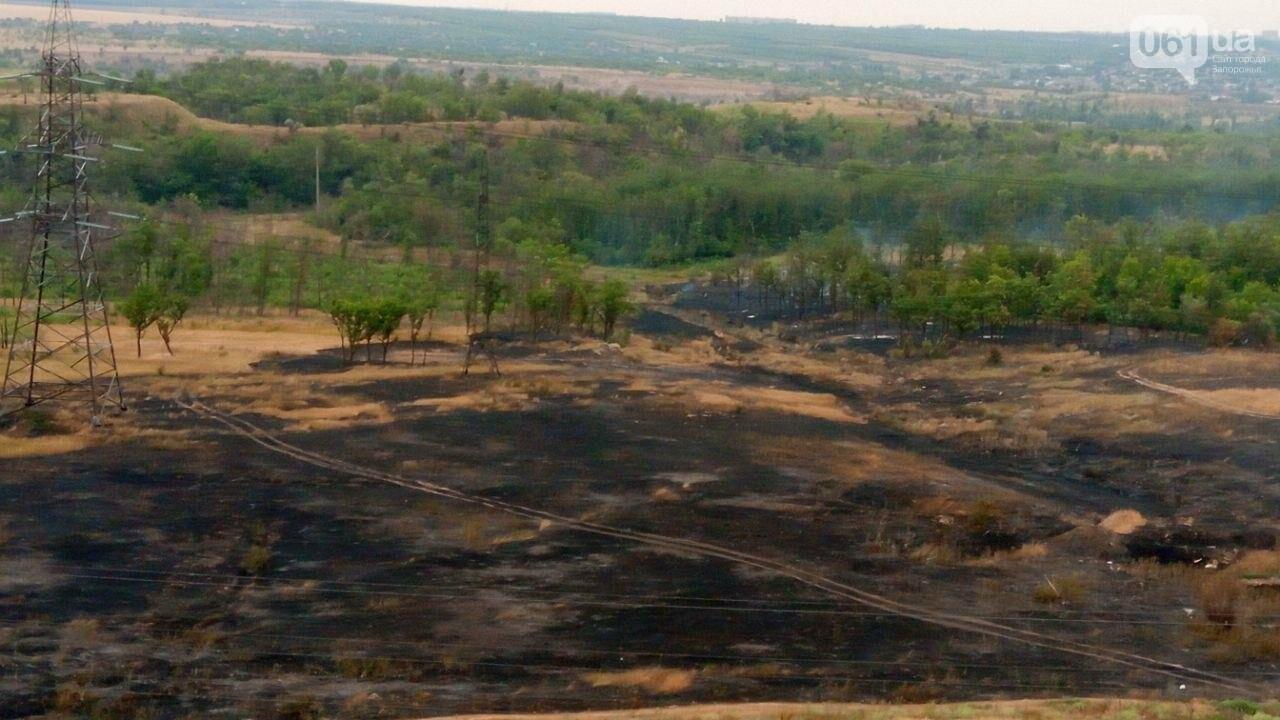 В области за день случилось 23 пожара: в Запорожье тушили не только пожарные, но и ЭЛУАД, - ФОТО, фото-2