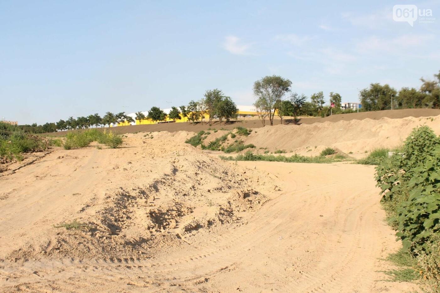 В Запорожье остановилось строительство нового парка на Радуге, – ФОТОРЕПОРТАЖ, фото-1