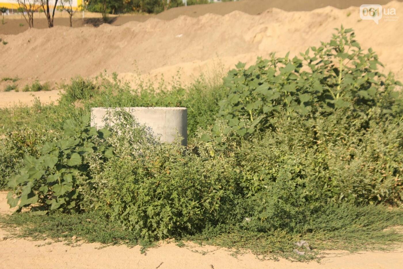 В Запорожье остановилось строительство нового парка на Радуге, – ФОТОРЕПОРТАЖ, фото-5