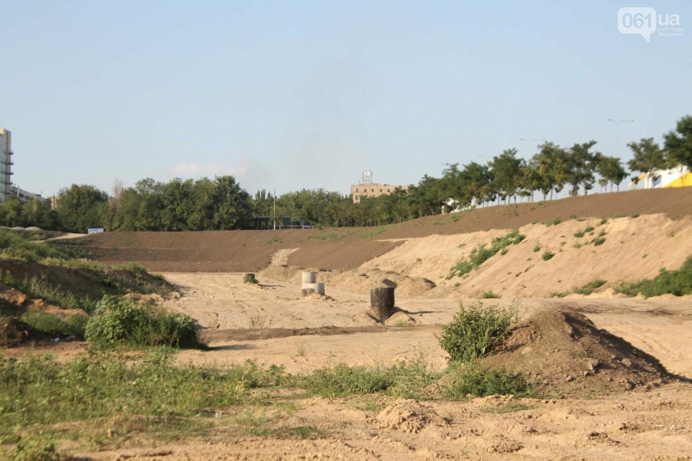 В Запорожье остановилось строительство нового парка на Радуге, – ФОТОРЕПОРТАЖ, фото-3
