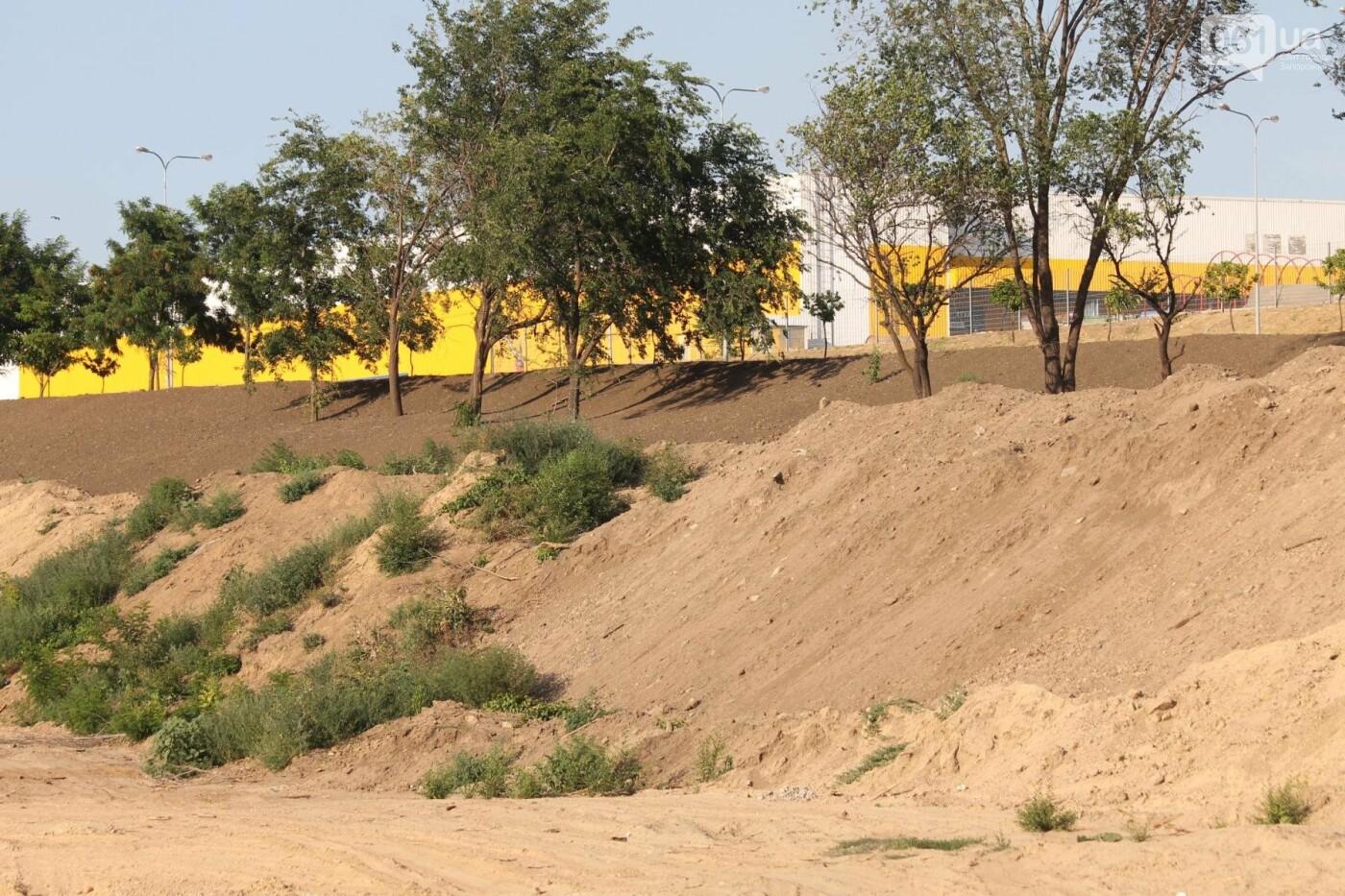 В Запорожье остановилось строительство нового парка на Радуге, – ФОТОРЕПОРТАЖ, фото-6
