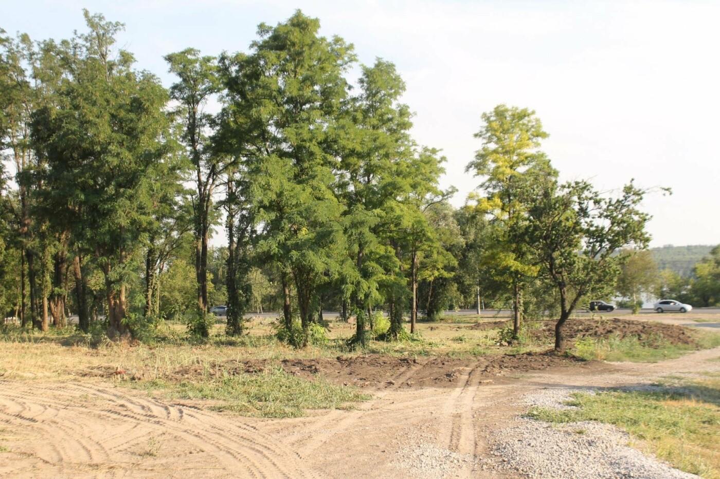 В Запорожье остановилось строительство нового парка на Радуге, – ФОТОРЕПОРТАЖ, фото-9