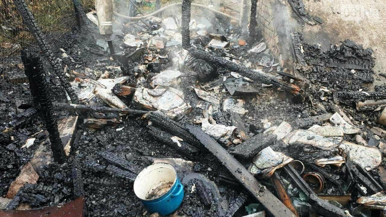 В Запорожье утром загорелся дом: пострадала женщина, - ФОТО, фото-2