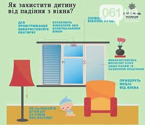 В Запорожье ребенок выпал из окна восьмого этажа, фото-2