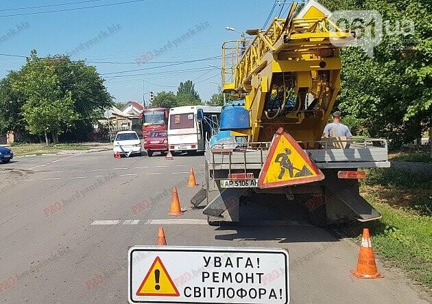 На запорожском курорте в тройное ДТП попала маршрутка с пассажирами, фото-3