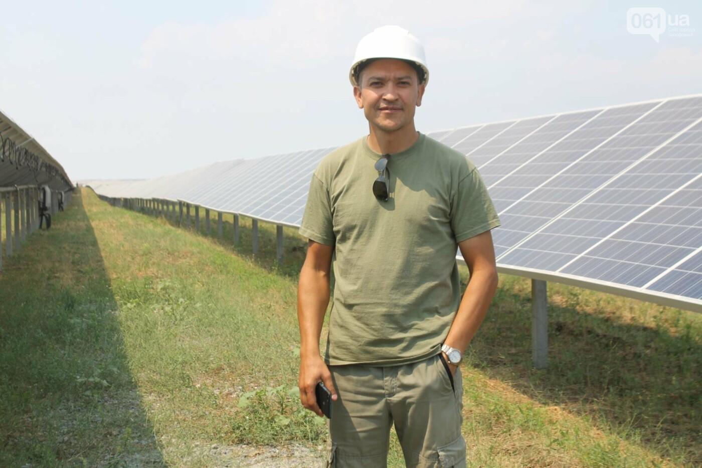 Как в Запорожской области работает крупнейшая в Украине солнечная станция: экскурсия на производство, — ФОТОРЕПОРТАЖ, фото-25