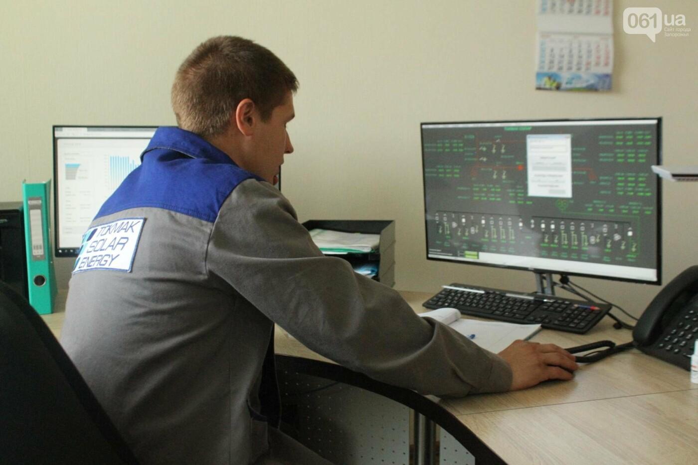 Как в Запорожской области работает крупнейшая в Украине солнечная станция: экскурсия на производство, — ФОТОРЕПОРТАЖ, фото-39