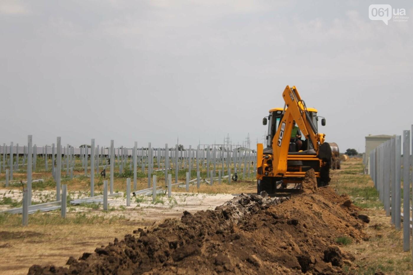 Как в Запорожской области работает крупнейшая в Украине солнечная станция: экскурсия на производство, — ФОТОРЕПОРТАЖ, фото-51