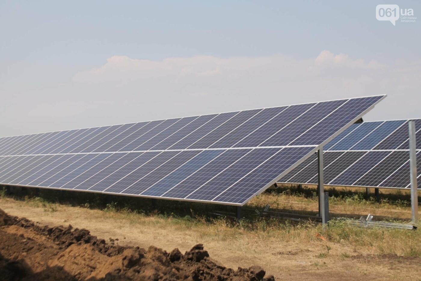 Как в Запорожской области работает крупнейшая в Украине солнечная станция: экскурсия на производство, — ФОТОРЕПОРТАЖ, фото-56
