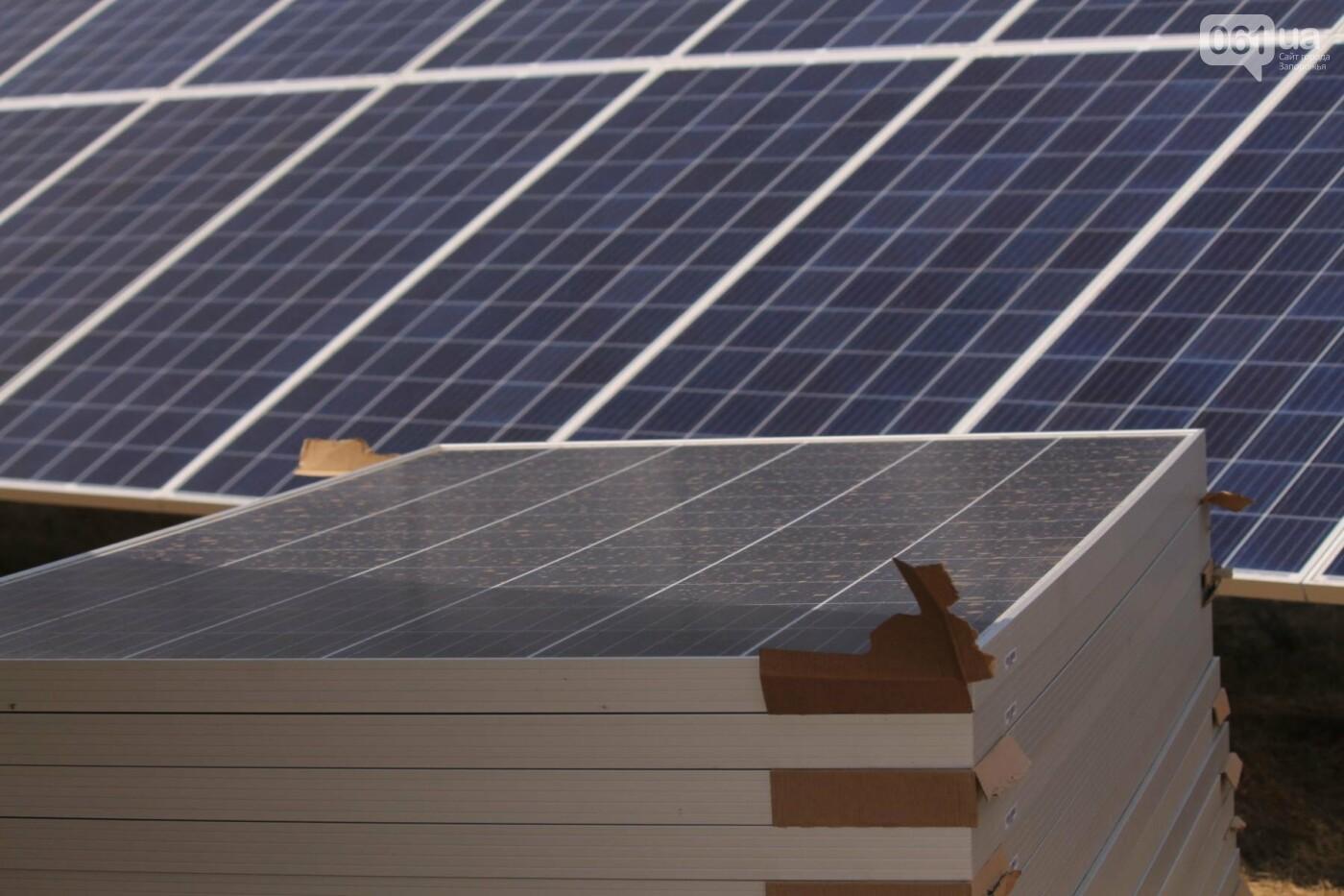 Как в Запорожской области работает крупнейшая в Украине солнечная станция: экскурсия на производство, — ФОТОРЕПОРТАЖ, фото-57