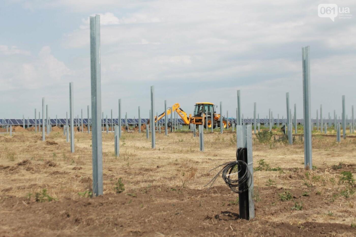 Как в Запорожской области работает крупнейшая в Украине солнечная станция: экскурсия на производство, — ФОТОРЕПОРТАЖ, фото-54