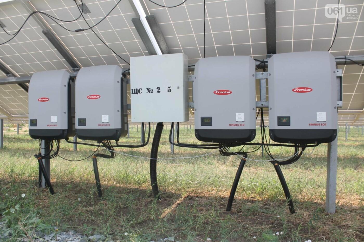 Как в Запорожской области работает крупнейшая в Украине солнечная станция: экскурсия на производство, — ФОТОРЕПОРТАЖ, фото-20
