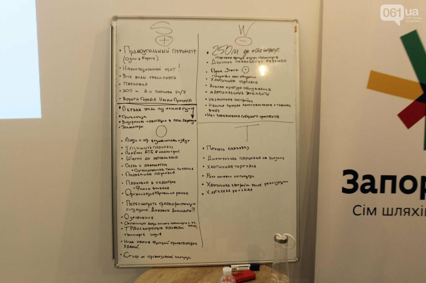 В Запорожье провели мозговой штурм и обсудили будущий проект Привокзальной площади, – ФОТОРЕПОРТАЖ, фото-25