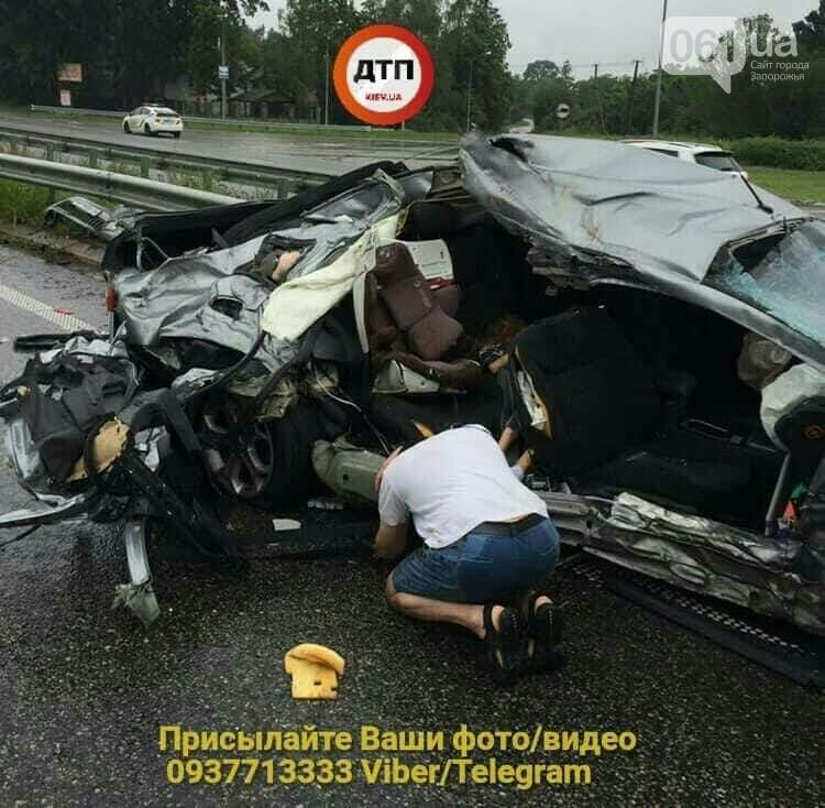 Под Киевом в ДТП попала семья из Запорожья — два человека погибли, - ФОТО , фото-2