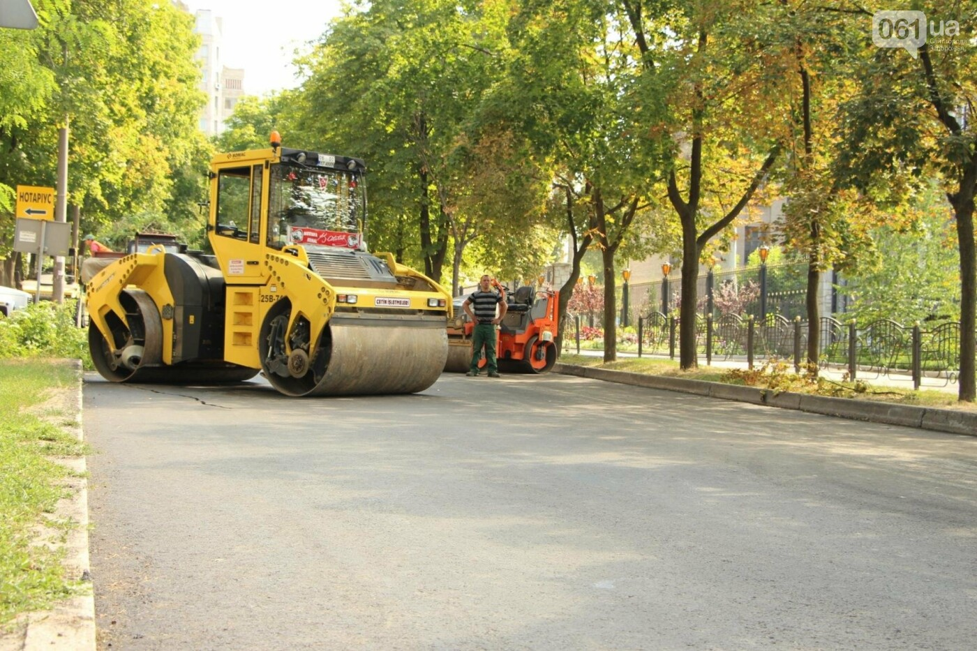 В Запорожье заканчивается ремонт дороги по улице Фортечной - завтра начнут в Вознесеновском, - ФОТОРЕПОРТАЖ, фото-10