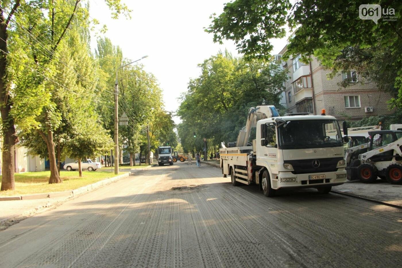 В Запорожье заканчивается ремонт дороги по улице Фортечной - завтра начнут в Вознесеновском, - ФОТОРЕПОРТАЖ, фото-9