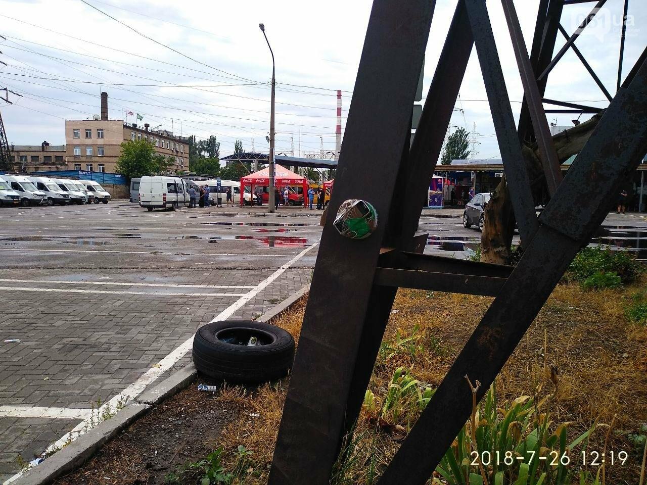 В Запорожье заминировали автовокзал - СБУ проводит учения, - ФОТО, фото-1