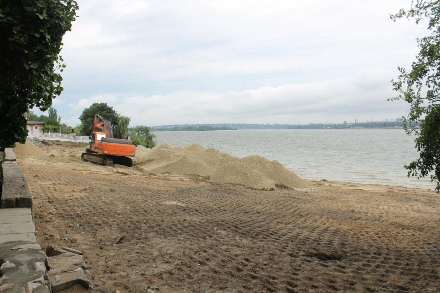 В Запорожье началась реконструкция Правобережного пляжа, – ФОТОРЕПОРТАЖ, фото-2