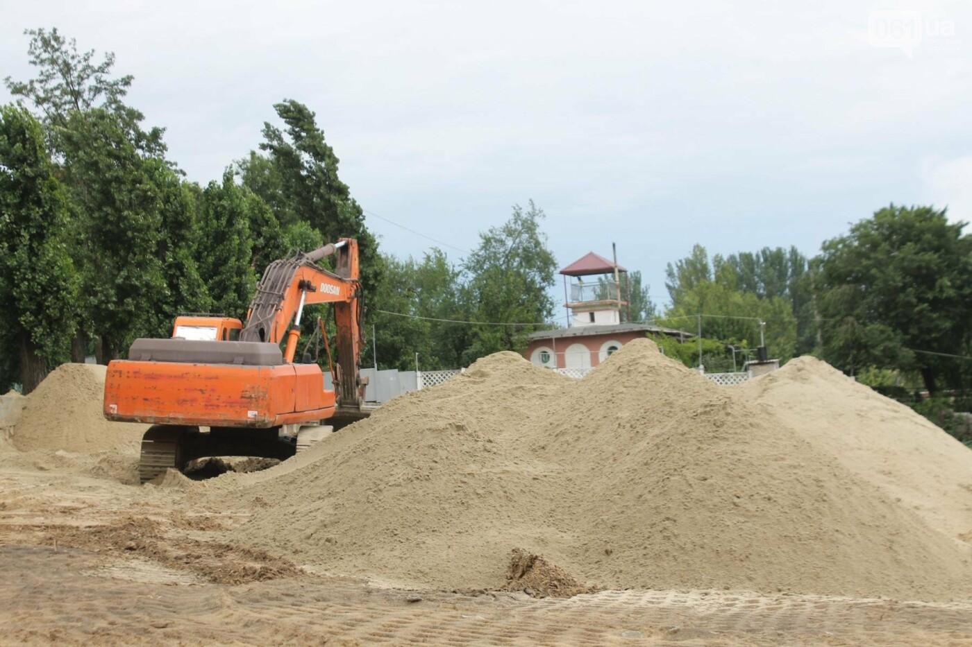 В Запорожье началась реконструкция Правобережного пляжа, – ФОТОРЕПОРТАЖ, фото-7