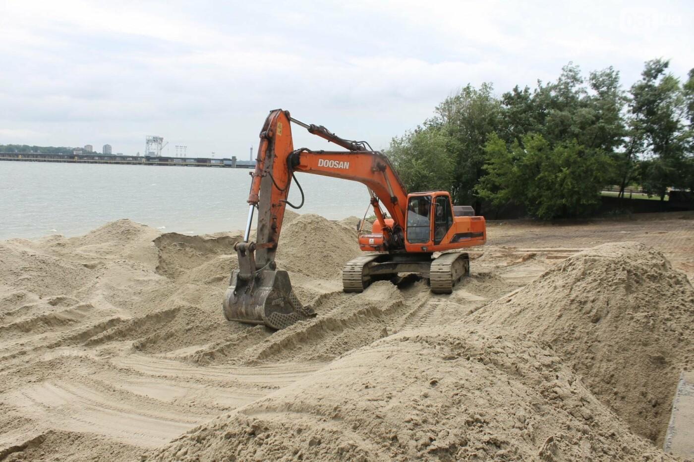 В Запорожье началась реконструкция Правобережного пляжа, – ФОТОРЕПОРТАЖ, фото-3
