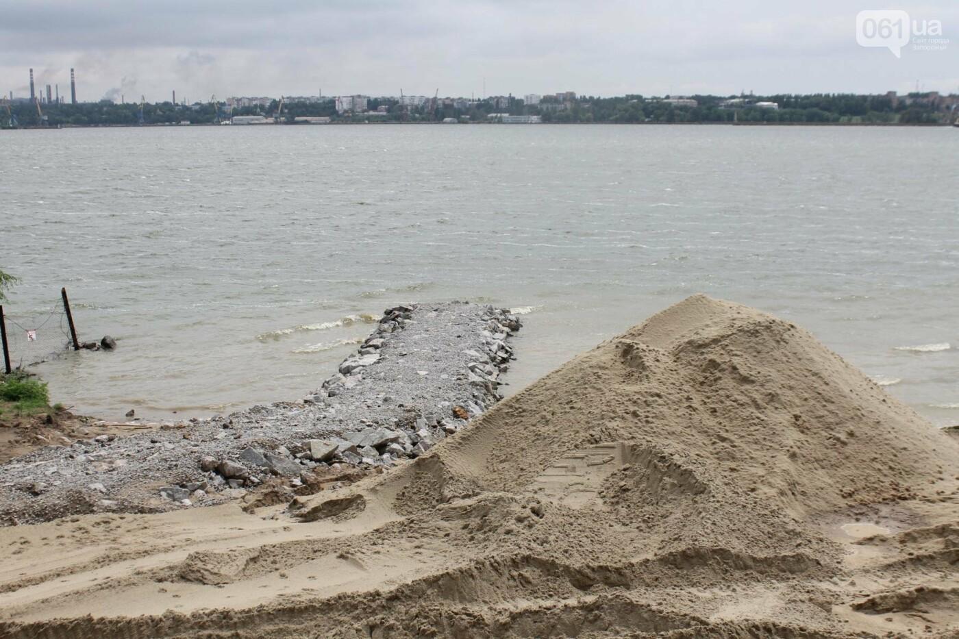 В Запорожье началась реконструкция Правобережного пляжа, – ФОТОРЕПОРТАЖ, фото-4