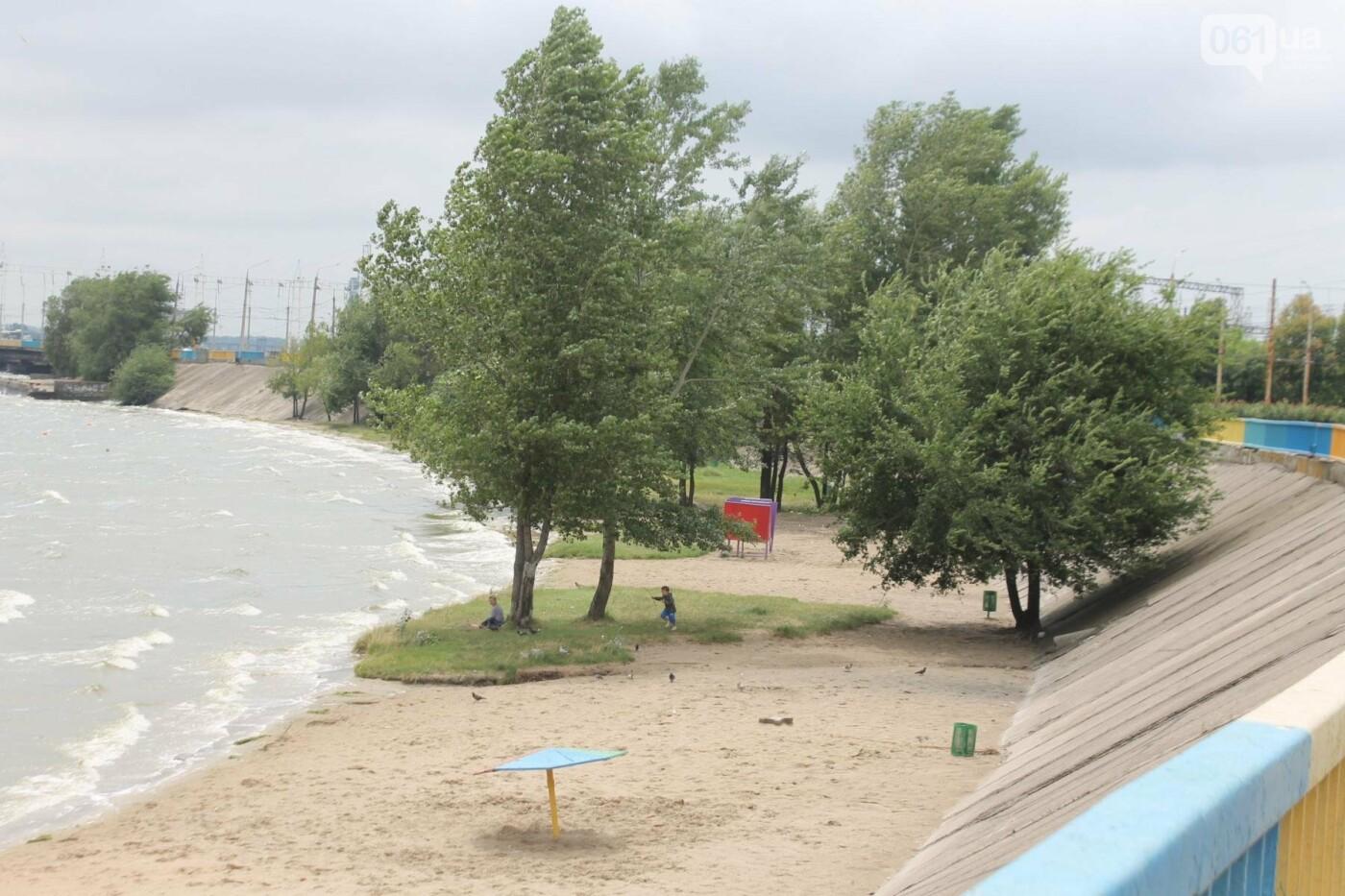 В Запорожье началась реконструкция Правобережного пляжа, – ФОТОРЕПОРТАЖ, фото-12
