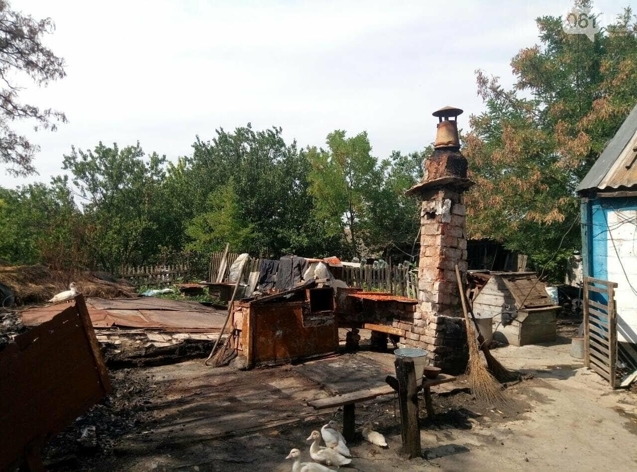 В Запорожской области в дом попала шаровая молния, фото-1
