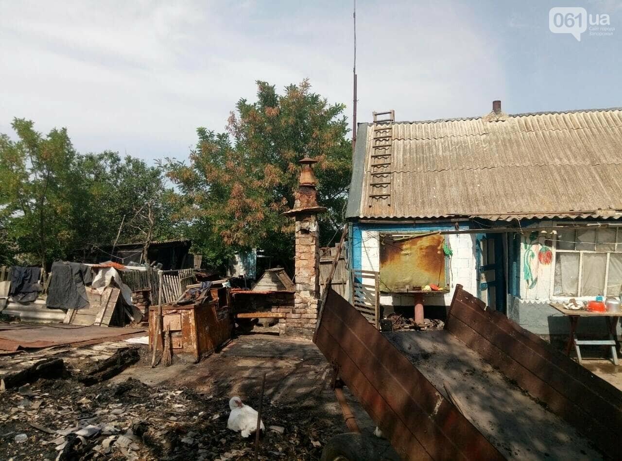 В Запорожской области в дом попала шаровая молния, фото-3